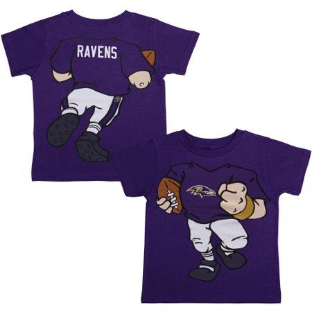 Baltimore Ravens Toddler Football Dreams T-Shirt - Purple