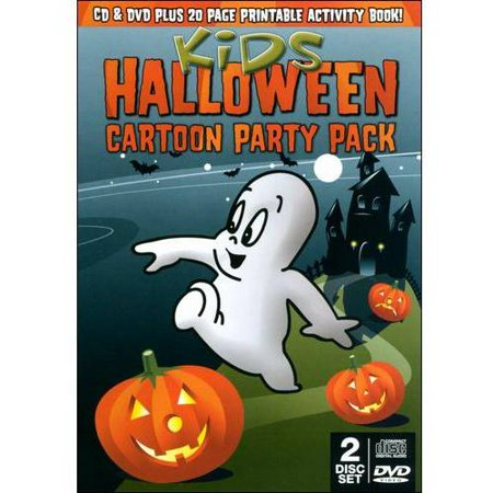 Kids Halloween Party Pack (DVD + CD) for $<!---->