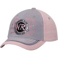 Whisky River Women's Vintage Adjustable Hat - Gray/Pink - OSFA