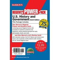 Regents U.S. History and Government Power Pack : Let's Review U.S. History and Government +  Regents Exams and Answers: U.S. History and Government
