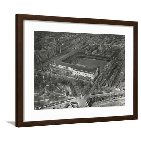 World Series Opening Game, Shibe Park, 1st October 1930 Framed Print Wall Art