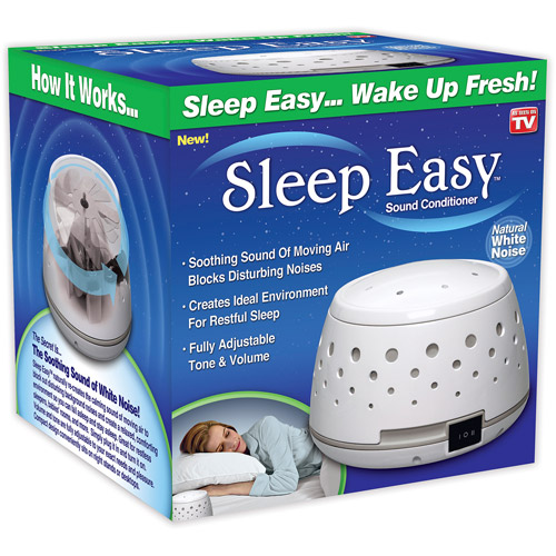SLEEP EASY SOUND CONDITIONER WHITE NOISE MACHINE BABY THE...