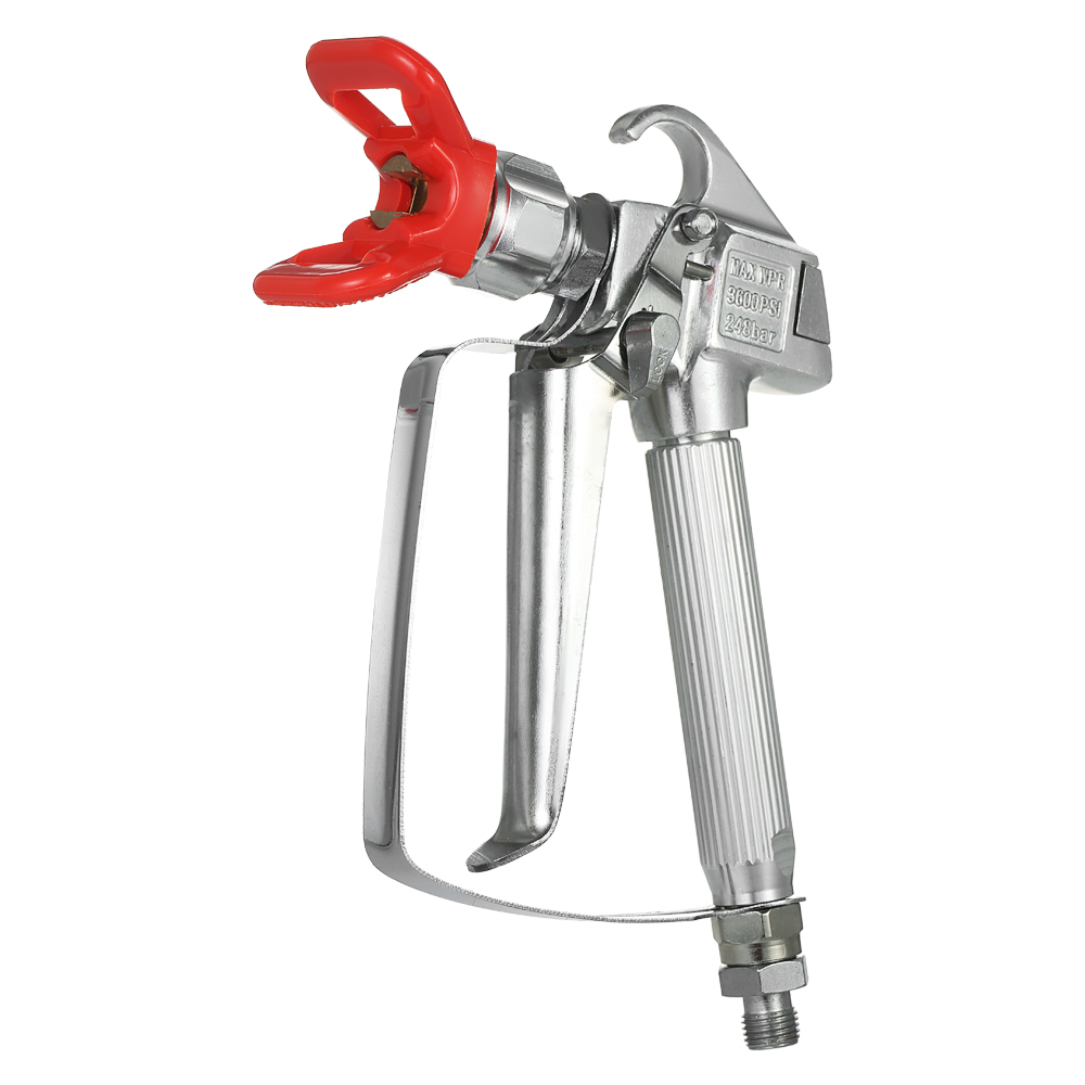 KKmoon High Efficiency 3600 PSI High Pressure Airless Paint Spray Gun with Nozzle Guard