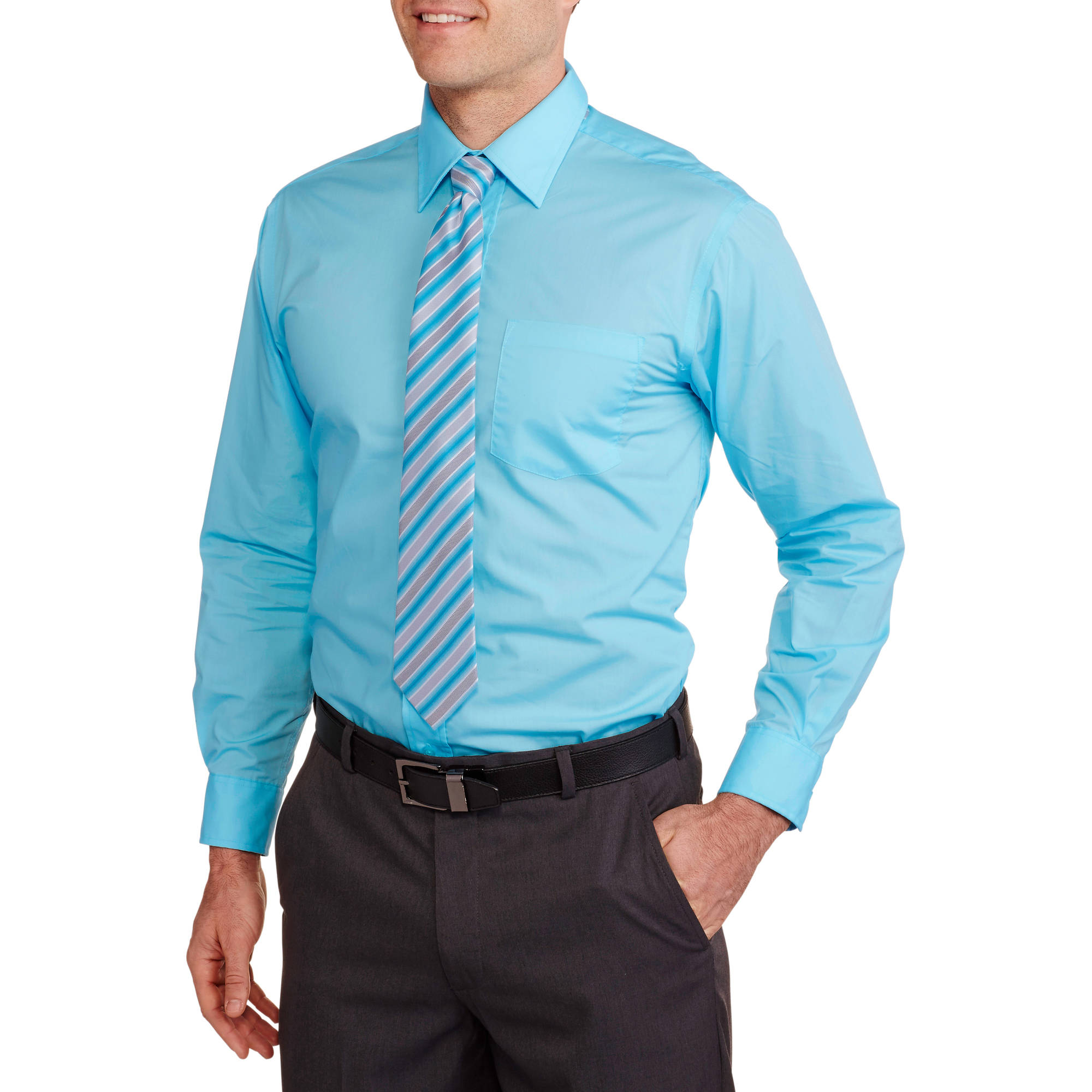 turquoise blue mens dress shirt best dressed