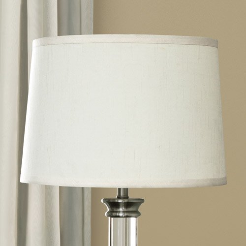 Canopy fresh ivory silk blend drum lamp shade walmart canopy fresh ivory silk blend drum lamp shade aloadofball Image collections