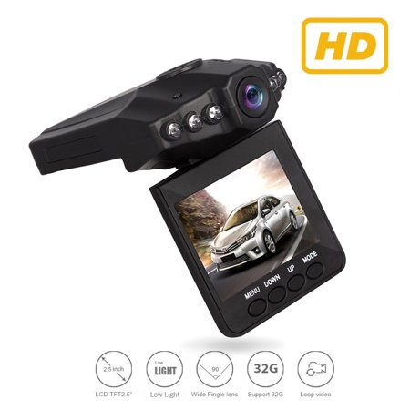 Dash Cam Dashboard Camera Recorder G-Sensor, Car Camera for Vehicles DVR with Loop Recording, Night Vision, Motion Detection Memory Card NOT