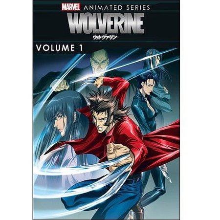 Marvel Animated Series  Wolverine  Volume 1  Anamorphic Widescreen