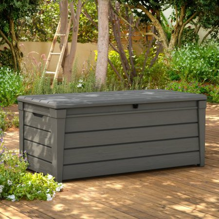 Keter 120-Gallon Resin Deck Box