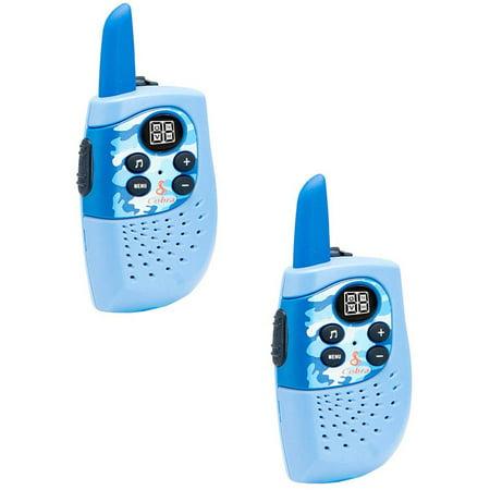 Cobra HE130B 16-Mile 2-Way Radios/Walkie Talkies (Blue/Camo)
