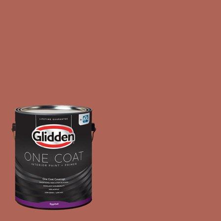 Glidden One Coat, Interior Paint + Primer, Cinnabar