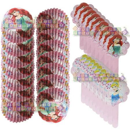 Disney Princess Sparkle Cupcake Combo Pack (18ct) (Disney Cupcakes)