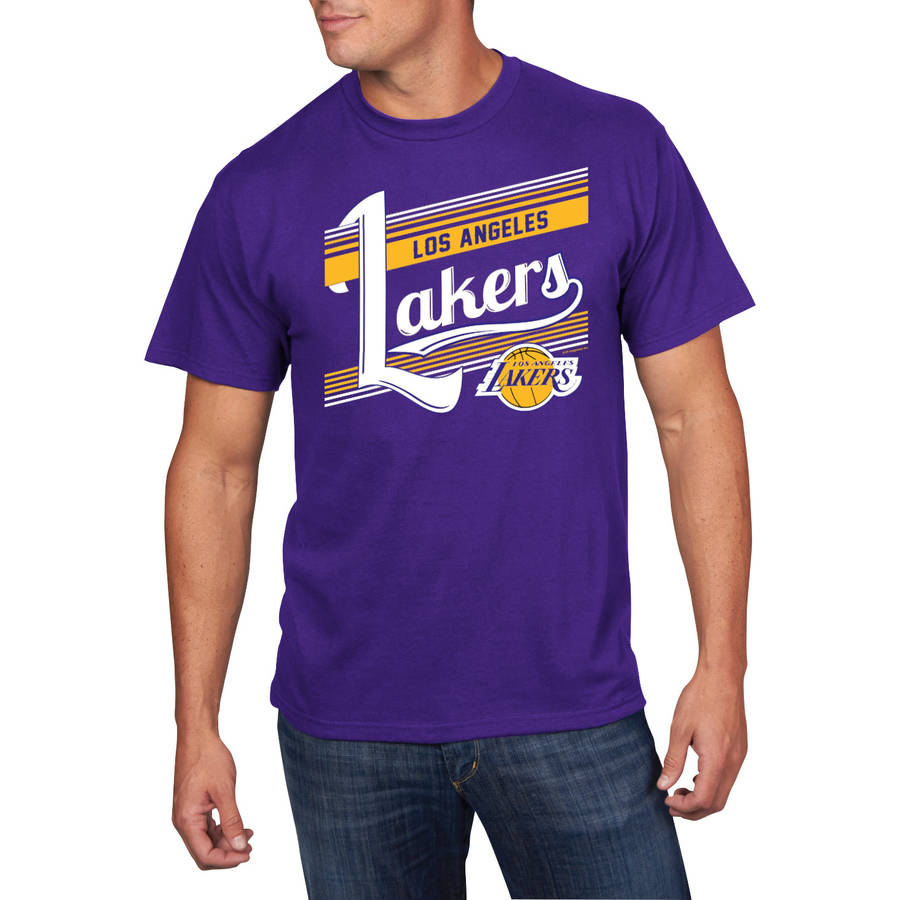 NBA Men's Los Angeles Lakers Holiday Short Sleeve Team Tee