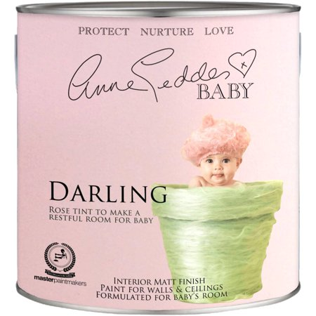 Anne Geddes Nursery Room Interior Paint  Darling Pink