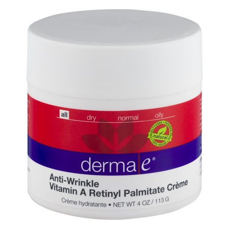 Derma Anti-Wrinkle Vitamin A Retinyl Palmitate Creme 4 oz