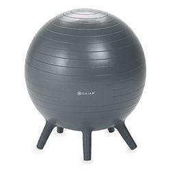 Gaiam Kids Stay-N-Play Balance Ball, Grey, 45cm