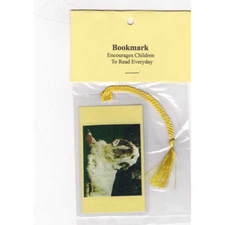 Clumber Spaniel Silhouette Dogs - Dog Bookmark Have You Read To Your Clumber Spaniel Today? with Greeting Card