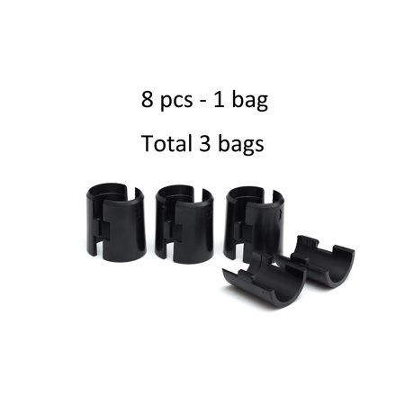 HSS Wire Shelf Lock Clips, Fits 3/4