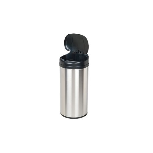 Nine Stars DZT-49-8 13.0 Gallon Round Shaped Trash Can with Infrared Motion Sens