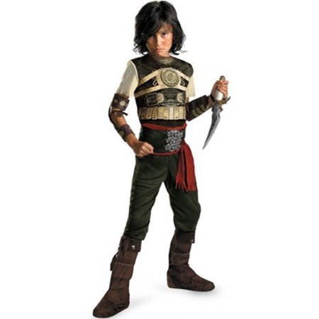 Prince Of Persia Costume (Child Deluxe Prince of Persia Sands of Time Dastan)