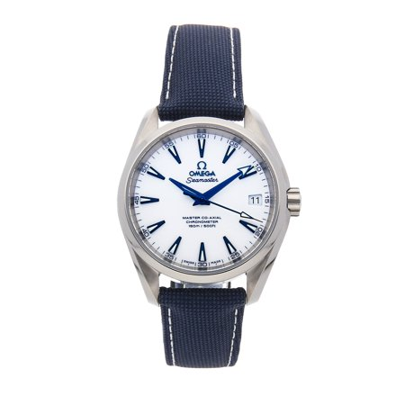 Pre-Owned Omega Seamaster Aqua Terra 150m Good Planet 231.92.39.21.04.001 Watch (Majority of Time Remaining on Factory Warranty)