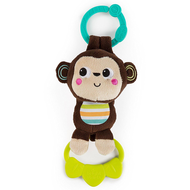 Bright Starts Tug Tunes Musical Plush Toy Monkey by Bright Starts