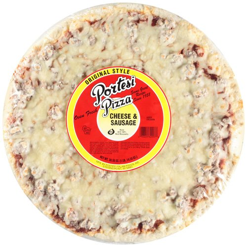 Portesi Pizza Cheese & Sausage, 30.55 oz
