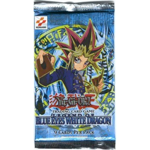 Konami YuGiOh Legend of Blue Eyes White Dragon Booster Pack for sale online