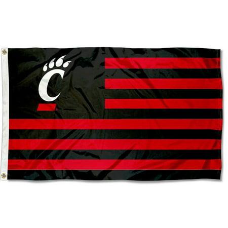 Cincinnati Bearcats American Flag Design 3' x 5' Flag
