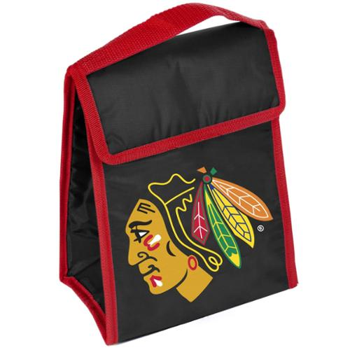 Chicago Blackhawks Official NHL  Insulated Lunch Box Lunchbox Bag by Forever Collectibles
