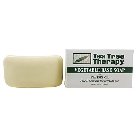 Tea Tree Therapy Tea Tree Therapy  Vegetable Base Soap, 3.9