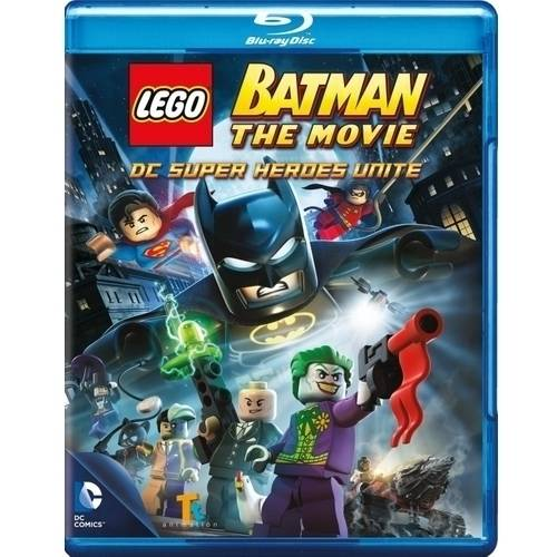 LEGO Batman: The Movie - DC Super Heroes Unite (Blu-ray + DVD + Digital HD With UltraViolet) (With INSTAWATCH) (Widescreen)