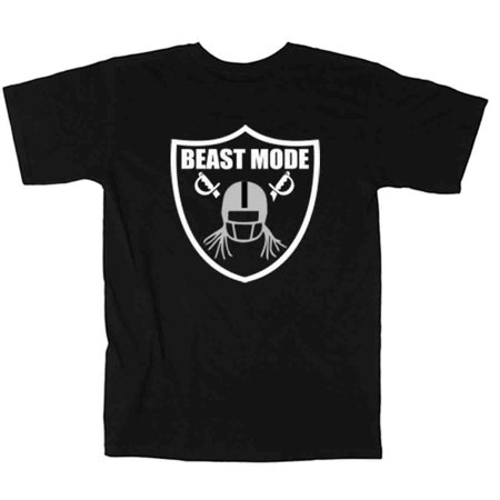 - Shedd Shirts BLACK Marshawn Lynch Oakland Raiders