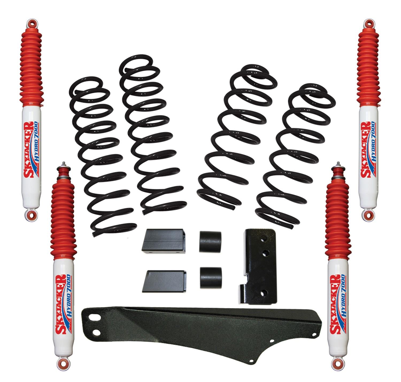 Skyjacker JK20BPH Suspension Lift Kit w/Shock Fits 07-17 Wrangler (JK)