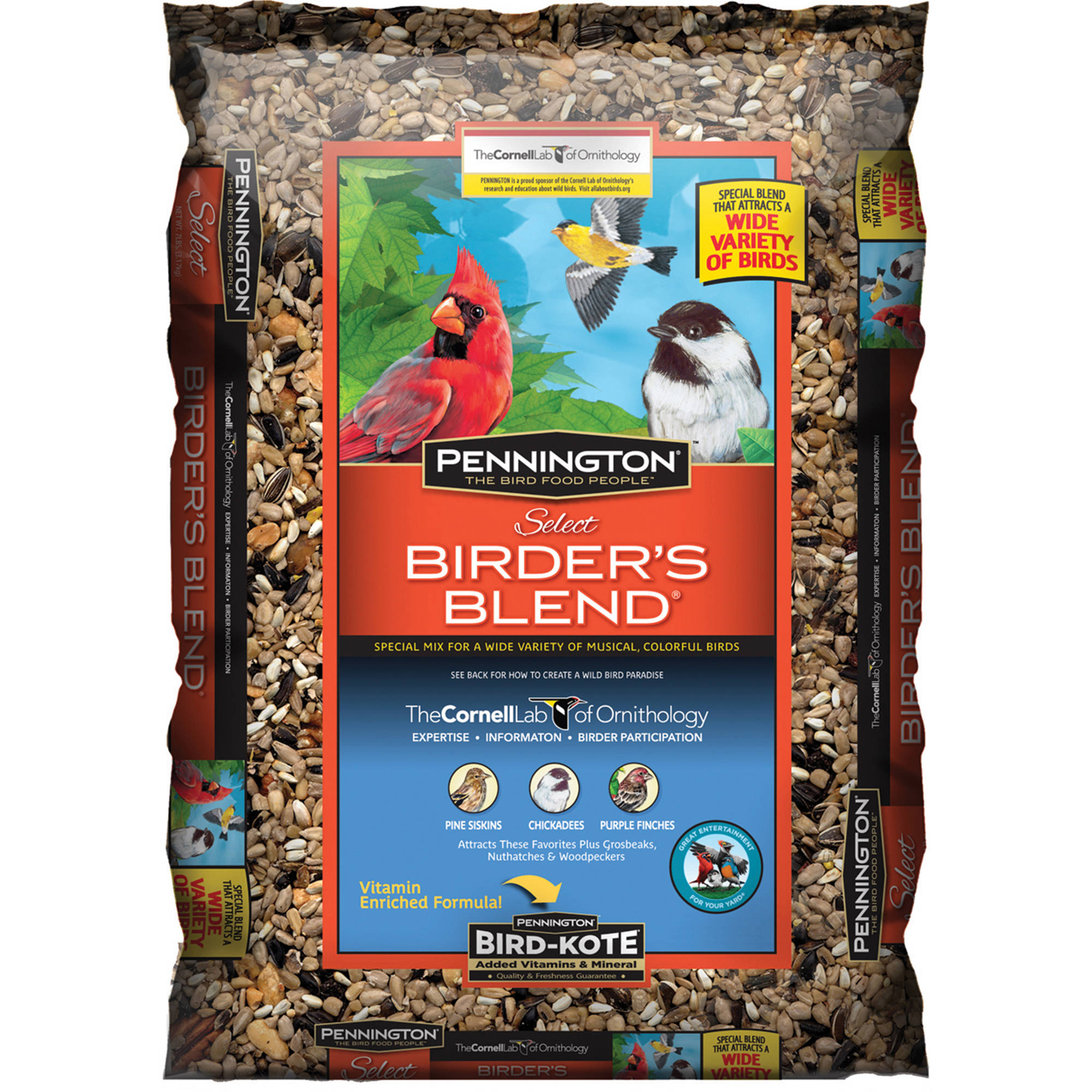 Pennington Select Birder's Blend Wild Bird Feed, 14 lbs