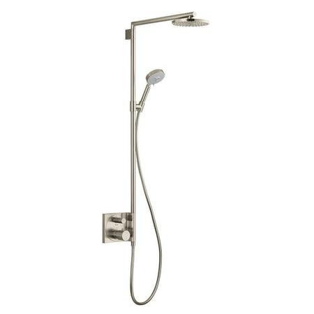 Hansgrohe 27192821 Raindance S Showerpipe Trim (Brushed Nickel) ()