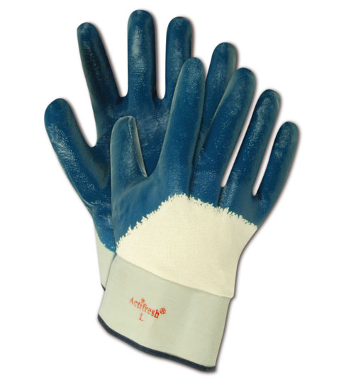 Magid MultiMaster Nitrile 3/4 Coated Gloves Large, 12 Pairs