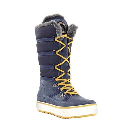 Women's Santana Canada Mackenzie2 Tall Boot Blue Nylon/Suede 7 M - image 6 of 6