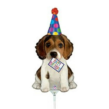 Betallic 86590 14 in. Birthday Puppy Balloon](Puppy Balloons)
