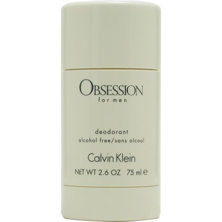 Obsession Deodorant Cologne (Calvin Klein Obsession Alcohol Free Deodorant Stick for Men, 2.6)