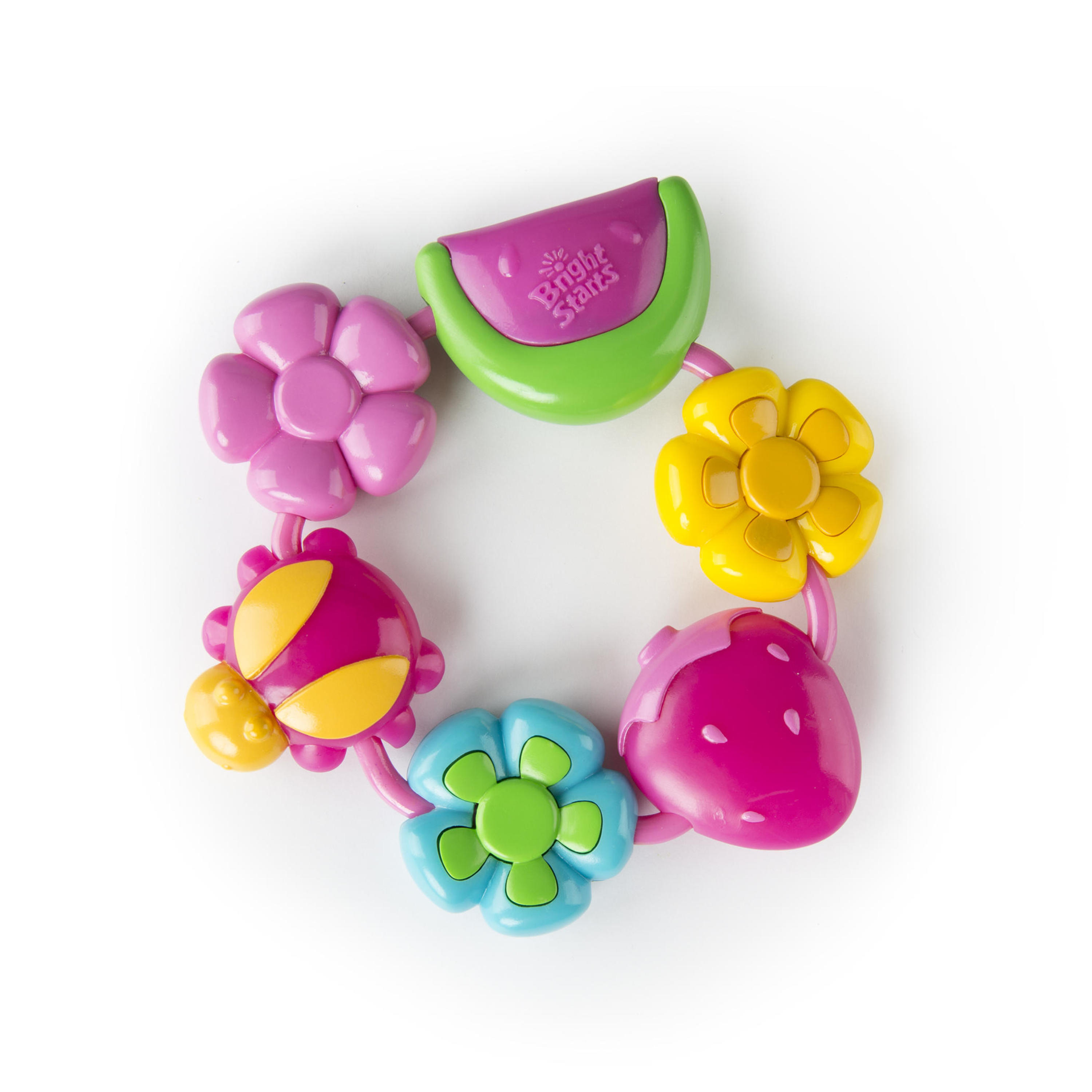 Bright Starts Buggie Bites Teether Teether Toy by Bright Starts