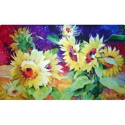 Custom Printed Rugs Summer Sunflower Doormat