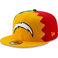 Los Angeles Chargers New Era 2019 NFL Draft Spotlight 9FIFTY Adjustable Snapback Hat - Gold - OSFA