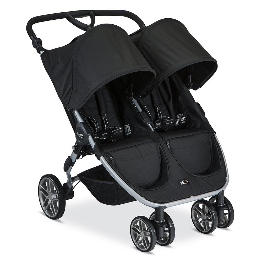Britax 2017 B-Agile Double Stroller, Choose Your Color