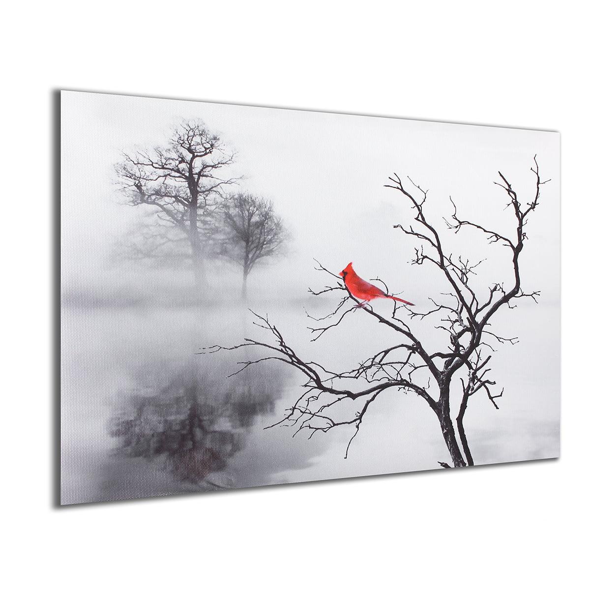 Cardinal sign, Bird painting, saying about birds, Cardinal home ...