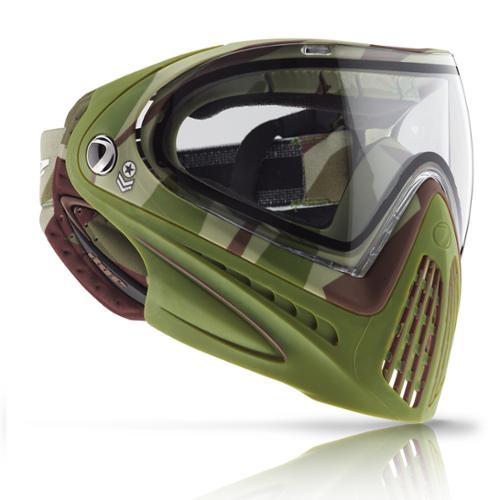 Dye Precision I4 Thermal Paintball Goggle - Barracks Olive w/ Free Lens