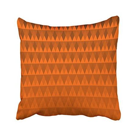 WinHome Decorative Pillowcases Pumpkin Orange Diamond Pattern Throw Pillow Covers Cases Cushion Cover Case Sofa 18x18 Inches Two Side - Hulk Pumpkin Pattern