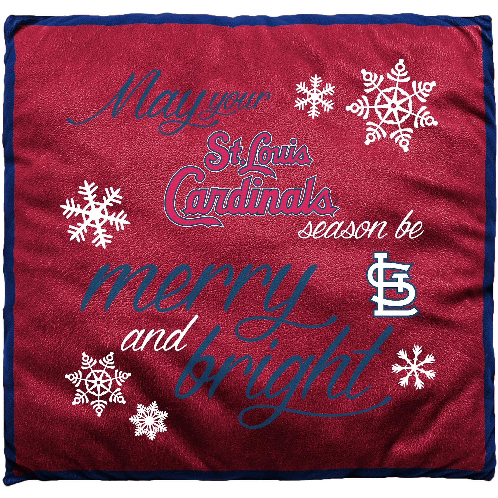 St. Louis Cardinals Holiday Pillow - No Size