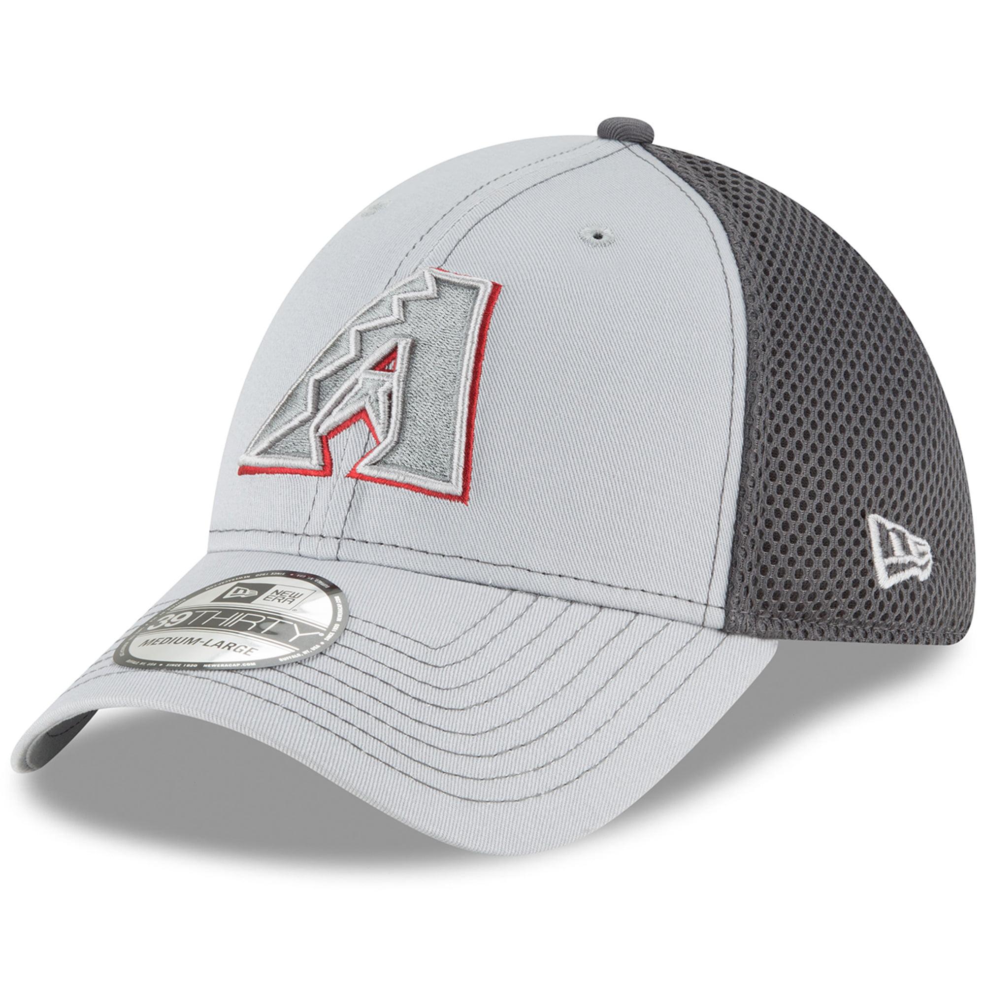 Arizona Diamondbacks New Era Grayed Out Neo 39THIRTY Flex Hat - Gray