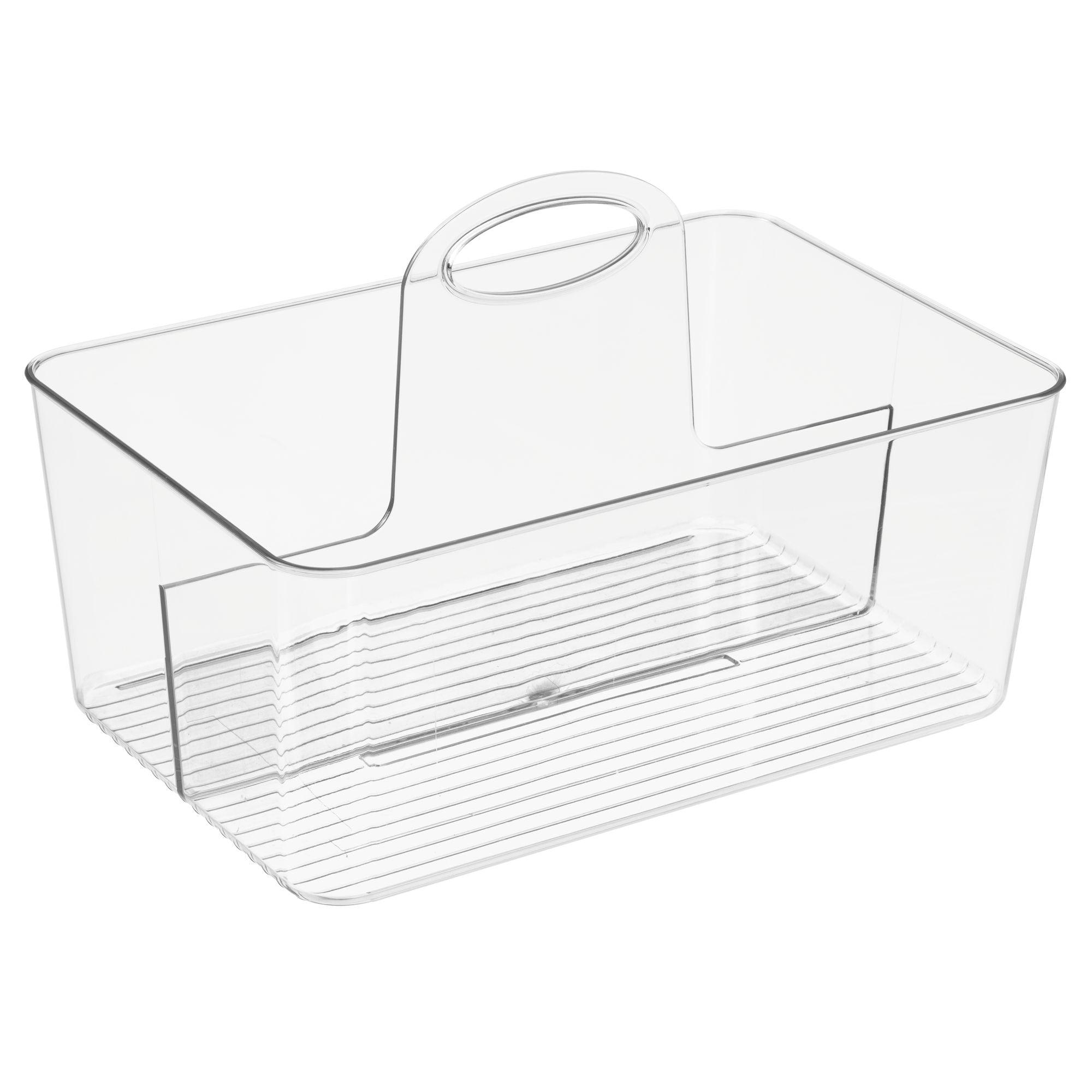 Mainstays Plastic Bath Tote Bin