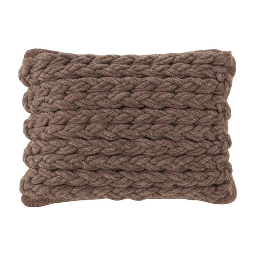GAN RUGS Mangas Space Rhombus Wool Throw Pillow